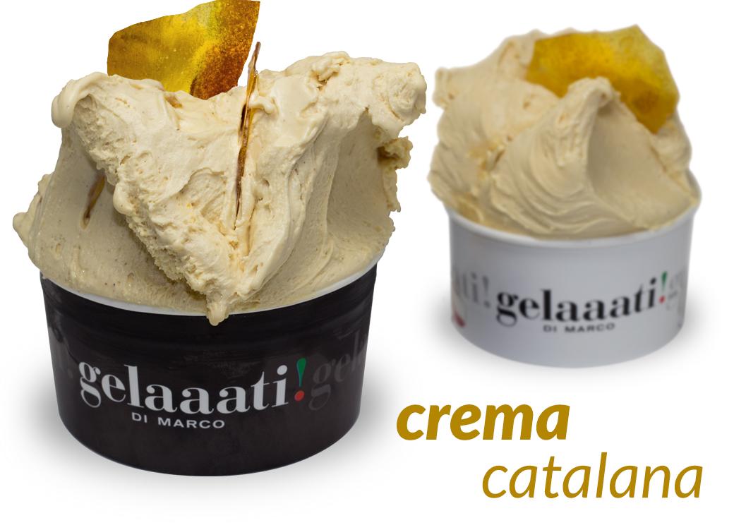 gelaaati! DI MARCO - Helado Crema Catalana en Barcelona